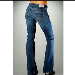 BNWT True Religion Medium Vintage Flare Jeans